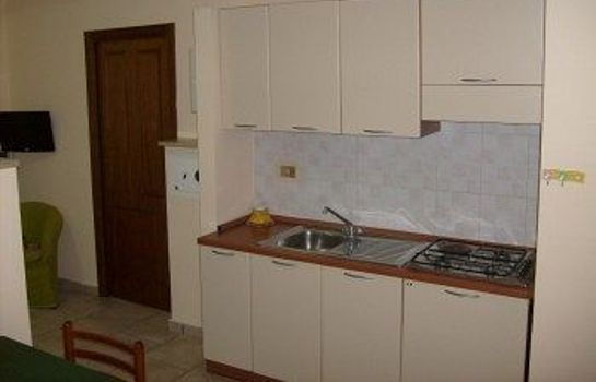 Kitchen in room Hotel Residence Sirio