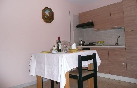 Kitchen in room I Papiri