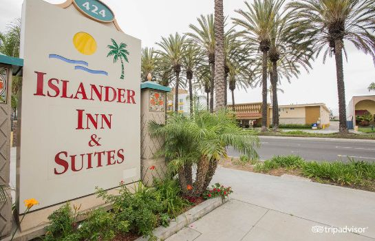 Außenansicht Anaheim Islander Inn and Suites