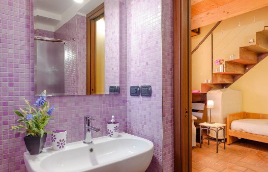 Bagno in camera Bed & Breakfast La Casa di Plinio