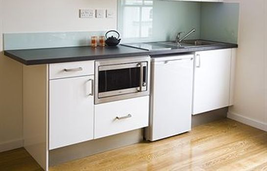 Cocina en la habitación Notting Hill - Concept Serviced Apartments