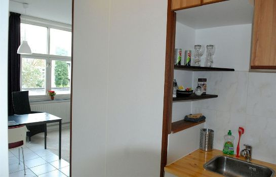 Cucina in camera Excellent Rooms Amsterdam