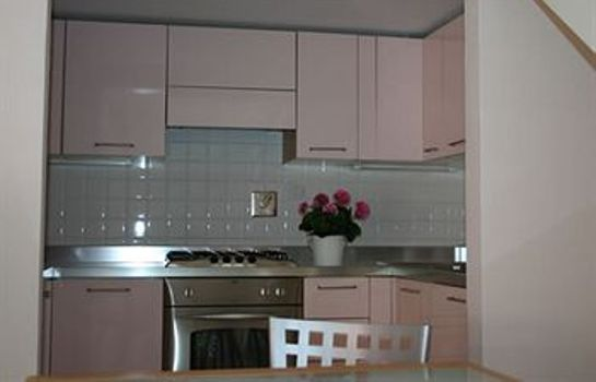 Kitchen in room Msn Apartments Florence