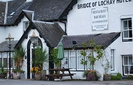 Vista exterior Bridge of Lochay Hotel