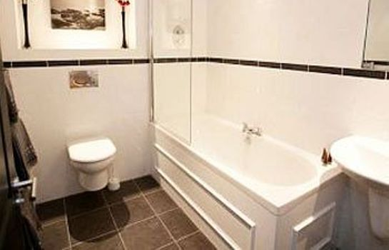 Bagno in camera Parkhill Apartments City Centre