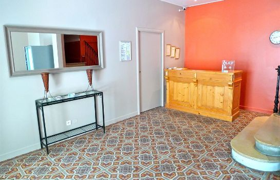 Vista all'interno Hotel Tanagra