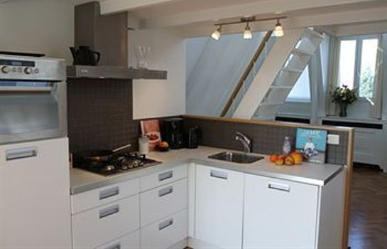 Cucina in camera Rijksmuseum Penthouse