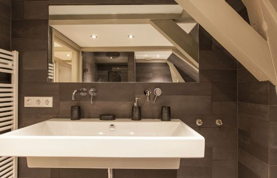 Bagno in camera Haarlemmerstraat Penthouse
