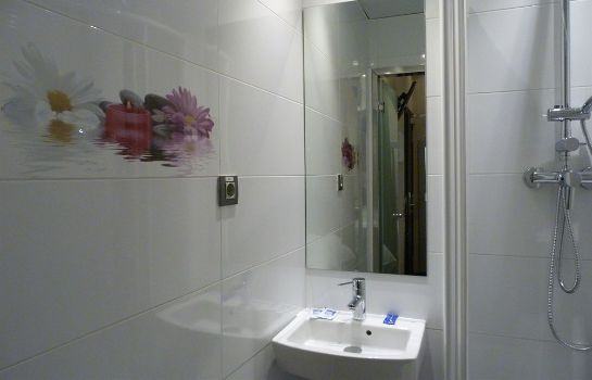 Bagno in camera Hostal Prado