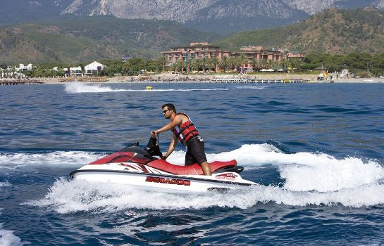 Sports facilities Fantasia Hotel De Luxe Kemer