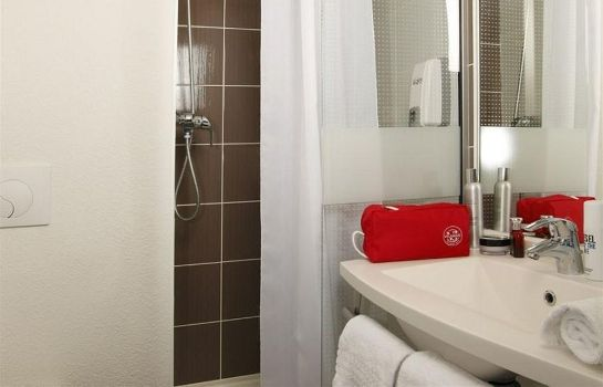 Bagno in camera Hotel Akena City Saint-Malo Dol-de-Bretagne