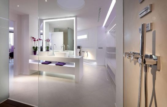 Bagno in camera Hotel Garbi Ibiza & Spa