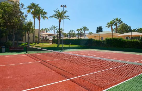 Tennis court Hipotels Mediterráneo Hotel