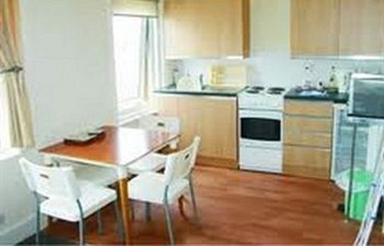 cuisine dans la chambre Rowntree Holiday Flats