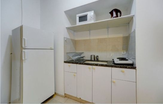 Kitchen in room Tel-Aviving Apartments