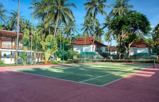 Campo de tennis Holiday Resort Lombok