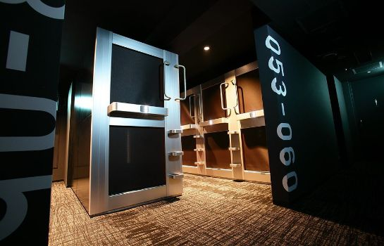 Binnenaanzicht New Japan Capsule Hotel Cabana - Caters to Men