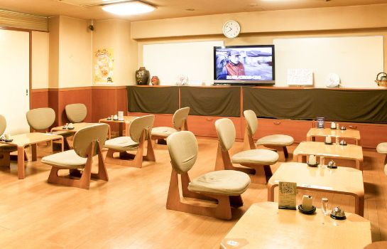 Restaurant New Japan Capsule Hotel Cabana - Caters to Men