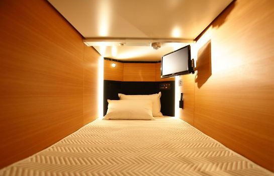 Info New Japan Capsule Hotel Cabana - Caters to Men