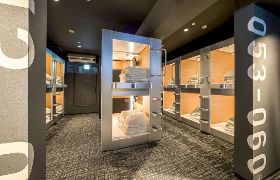Standaardkamer New Japan Capsule Hotel Cabana - Caters to Men