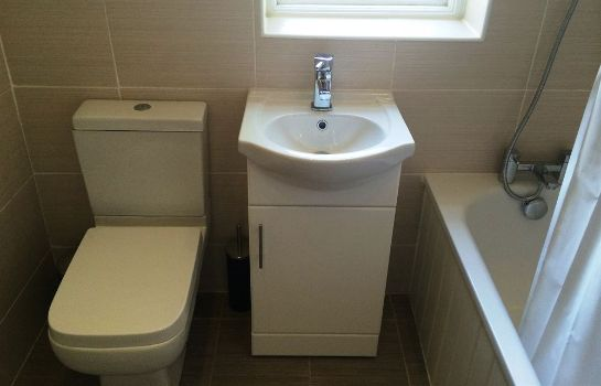 Bagno in camera Colvin House