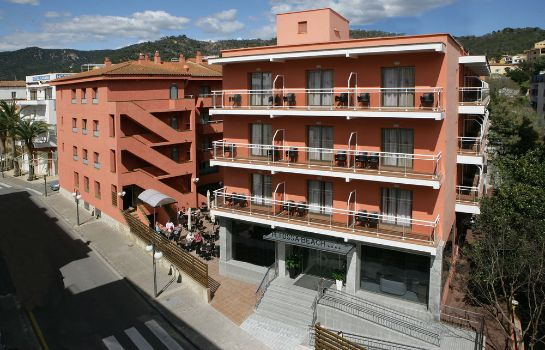 Vista exterior Hotel Tossa Center