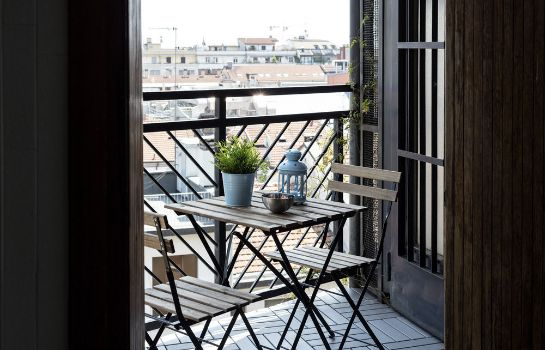 Terrasse Heart Milan Apartments