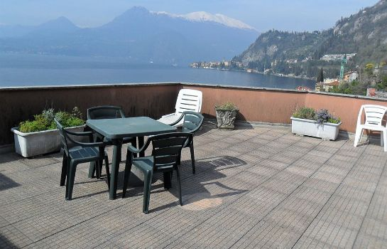 Terrasse Flat Fiumelatte Terrace lake view