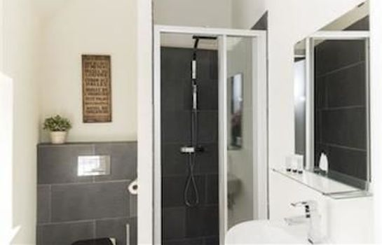 Bagno in camera Stayci Apartments Nobelle