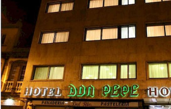 Exterior view Hotel Don Pepe