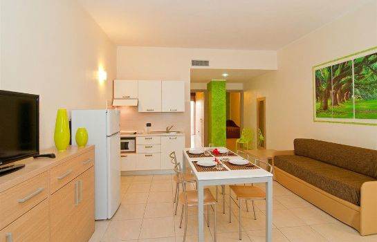 Kitchen in room Diano Sporting Apartments