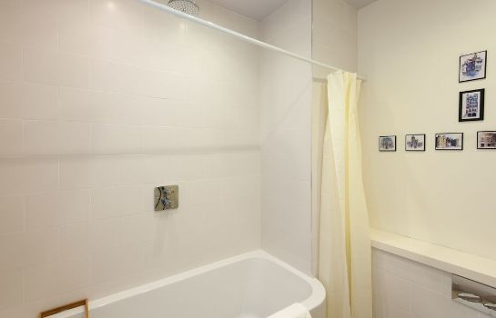 Bathroom Silver Lining - Mile Apartments