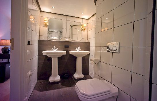 Bagno in camera Grand Boutique Hotel Huis Vermeer