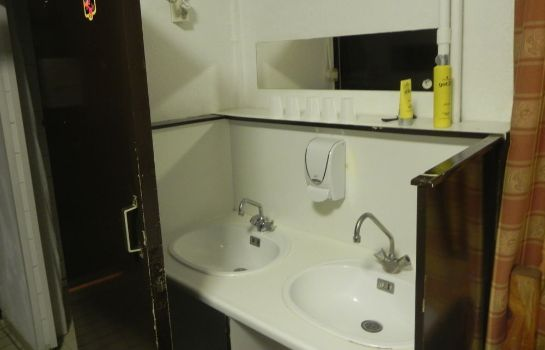 Bagno in camera Hotel The Crown