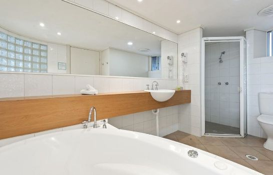 Bagno in camera North Pier Hotel