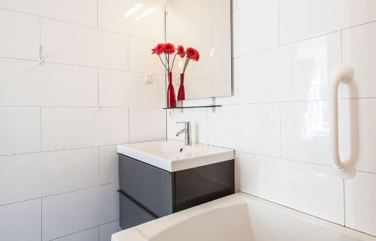 Bagno in camera Plantage Hortus Apartments