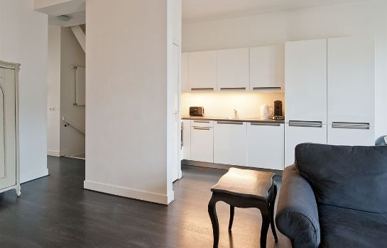 Cucina in camera Rozengracht Apartment Suites