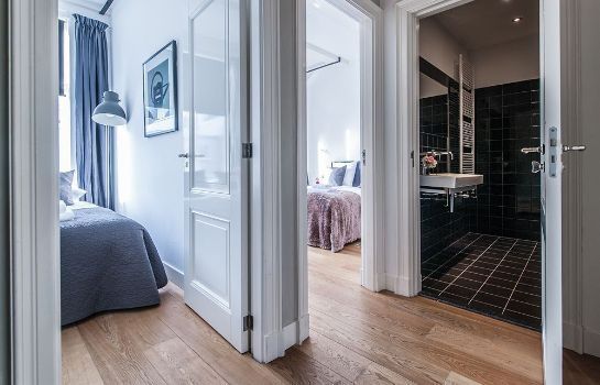 Bagno in camera Prince Canalhouse Apartment Suites