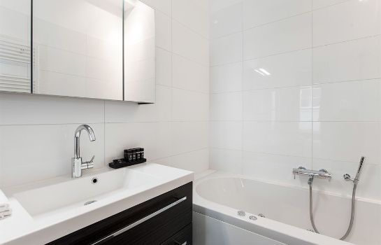 Bagno in camera Cityden Canal Serviced Apartments