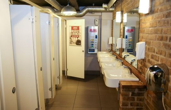 Bagno in camera Hammersmith - Hostel St Christopher's Inn