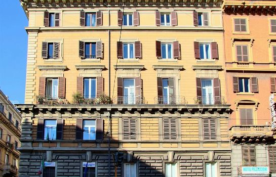 Außenansicht Short Stay Rome Apartments Termini