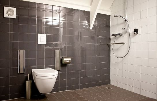 Bagno in camera Hotel Merlinde