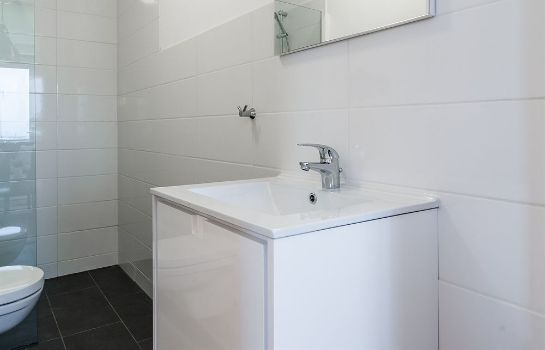 Bagno in camera Amstel Delight Apartments