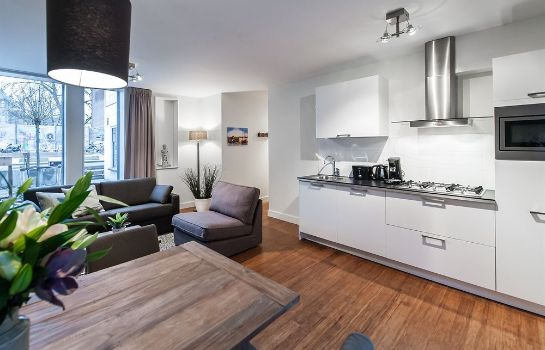 Cucina in camera Amstel Delight Apartments