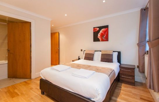 Camera standard Southwark Serviced Apartments