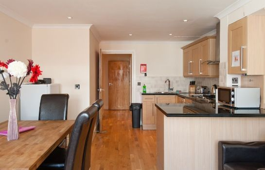 Cucina in camera Southwark Serviced Apartments