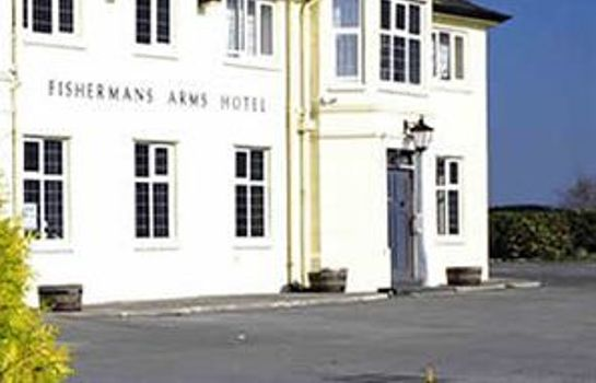 Exterior view The Fishermans Arms Hotel