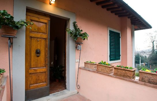Vista exterior Il Palagetto Guest House