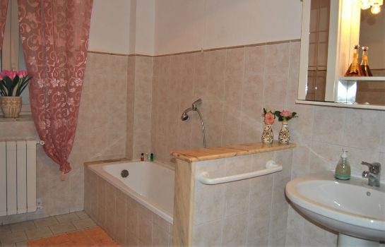 Bagno in camera Bed and Breakfast D'Angelo