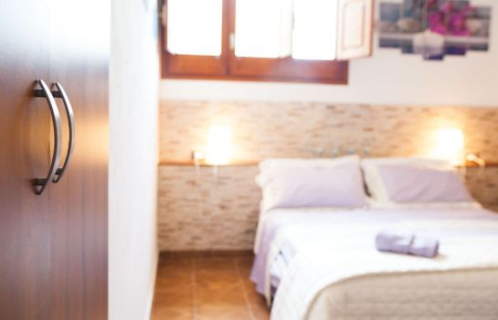 Badezimmer Bed and Breakfast Villa Amodeo